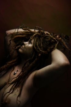 Red Dreads II by CurvedLightStudio