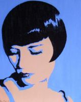 Louise Brooks by birdsyoucannotsee
