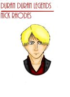 DD Legends - Nick Rhodes by GZLTriforce128