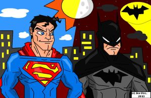 JoeProCEO's Superman VS Batman 2013 by JoeProCeo