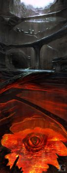 Ashen Cave by Kevin-Glint