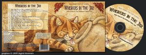 CD cover - Whiskers in the jar by Illahie