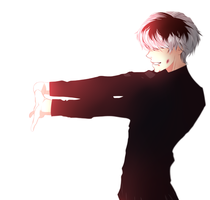Sasaki Haise - Coloration by Kervanos