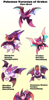 Pokemon Subspecies Crobat by Phatmon66