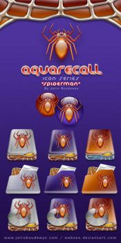 AquaRecall Icons - Spiderman by weboso