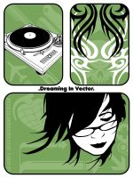 """Dreaming In Vector"" by KOZASC"
