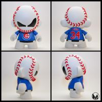 Cubs Baseball Munny - Kerry Wood by MindoftheMasons