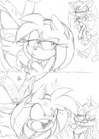 Shad...Amy? : Son....ouge? :part 2: by Narcotize-Nagini