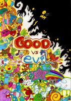Good vs Evil by raquel-cobi