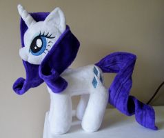 Rarity Plushie by PlushieScraleos