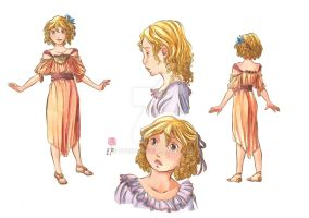 Perla character sheet by Ofride