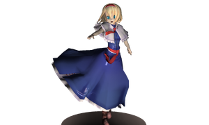 MMD Figure- Alice Margatroid by magicturtlerock