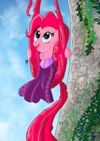 Disney Princess Pinkie Pie (Rapunzel) by KarToon12