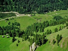 The green valley by edelweiss26