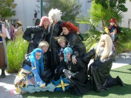 Org XIII at Yaoi con by dracoXK