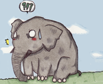 Toby, The elephant by celipink