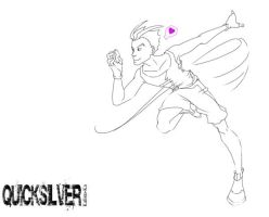 Quicksilver old sketch by Kalisto-ka