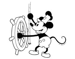 Steamboat Willie by fatgurl06
