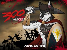 300 Watchers by wolfjedisamuel