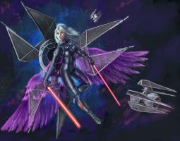 Victory Girl- Tie Defender by fuuryoku