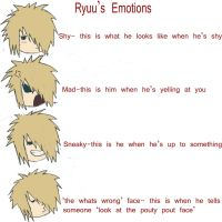 Ryuu's Emotions by Yori-Rinzo-Shimize
