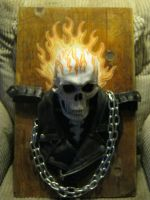 Ghost rider real 3d art 3 by jdmacleod