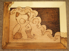 wooden kitty project by Dobiba