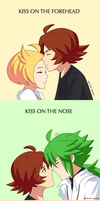 kissing meme by artist-black