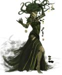 Vraska color rough by Grieverjoe