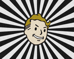 Fallout Vault Boy by Puff24
