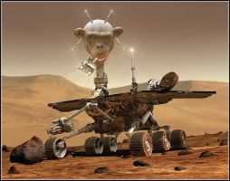 Mars Rover. by fisher57