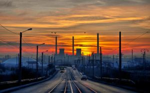 The city at dawn by rott-man
