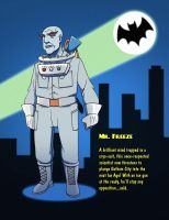 Batman 1966 - Mr. Freeze by SeriojaInc