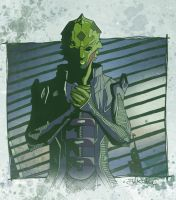 Mass Effect 2 - Thane Krios by SentientSpore