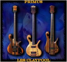 Les Claypool by lostcaveman