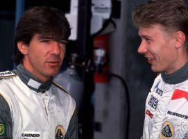 Julian Bailey | Mika Hakkinen (1991) by F1-history