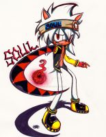 Soul Eater!!!! As a sonic character! :D by CrystalX123