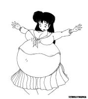 Swollen Kagome by Bellymanga