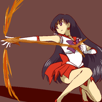 Sailor Mars by Rhodonite