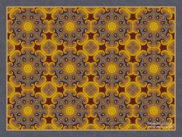Yellow and Gray Tile by afugatt