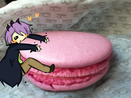 Ib: Garry and his macaroon by Amasunico