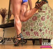 Strong, Muscular, Amazing, and Shapely Calves - LE by LegsEmporium