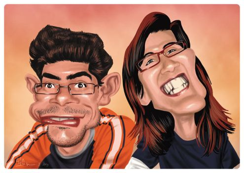 Caricature by luis-m