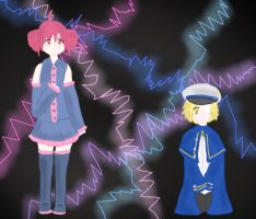 Vocaloid: Teto and Oliver by matisse77