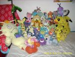 Pokemon Plush Collection 2012 by kratosisy