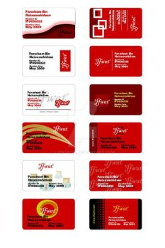 MemberCard Design 100 - 112 by lurkerism