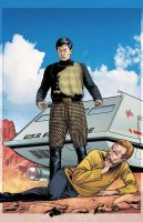 Star Trek: TEE 3 Cover Art by sharpbrothers
