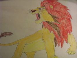 The Lion King Simba by FlyingLion76