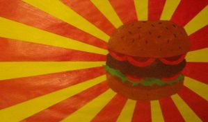 Fast food: The burger by Tim-skafte