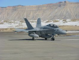 FA-18D VMA-106 Turning In by Qphacs